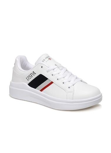 U.S. Polo Assn. 1Fx Erkek Sneaker Beyaz